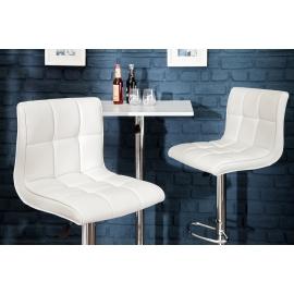 Stołek barowy Modena 90-115cm biały / 36919