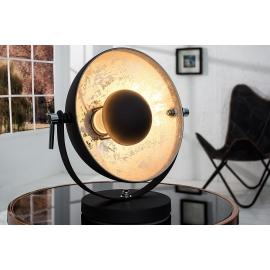 Lampa stołowa STUDIO 40cm czarne złoto / 37140