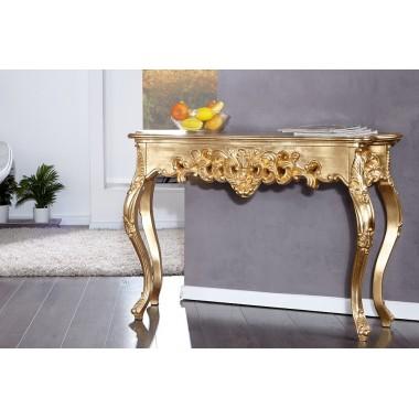 Konsola / Toaletka VENICE złota 110cm / 15633