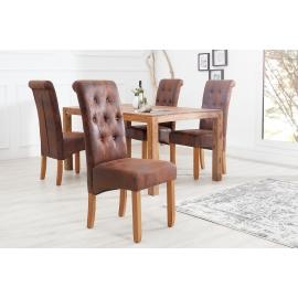 Krzesło VALENTINO whisky-brązowy / 37292