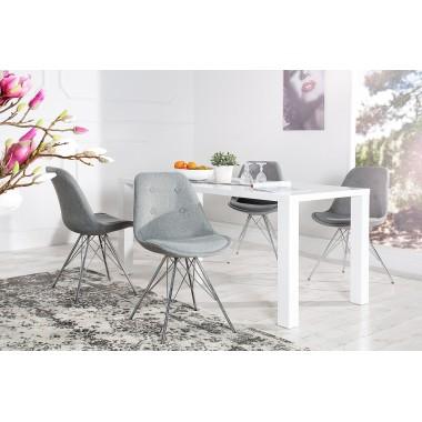 Krzesło SCANDINAVIA RETRO szare/ 36092