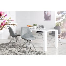 Krzesło SCANDINAVIA RETRO szare/ 3609