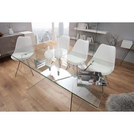 Biurko ONYX 160cm biały beton / 38143