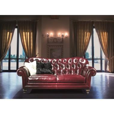 Włoska sofa skórzana KLINE LEATHER / EP