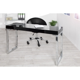 Biurko / Stół do laptopa DESK 120 x 40cm czarny / 22093