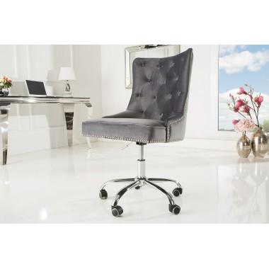 Krzesło biurowe VICTORIAN srebrnoszary / 38791