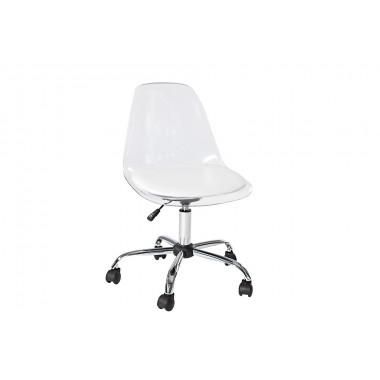 Krzesło biurowe GHOST transparent / 36107
