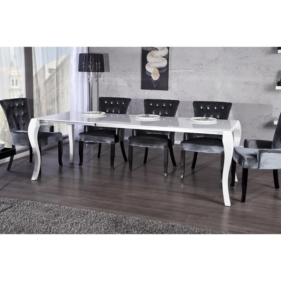 Stół biały BAROCCO Rozkładany 170-200-230cm / 20053