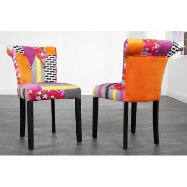 Krzesło IBIZA II kolorowe patchwork / 22788