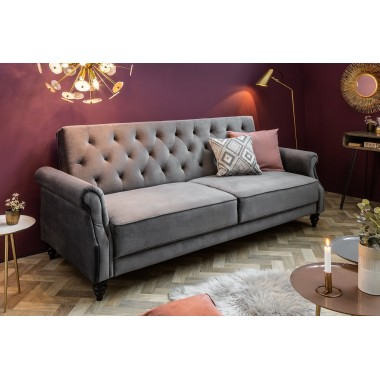 Sofa rozkładana MAISON BELLE II 220cm szara / 39175