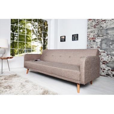 Sofa rozkładana SCANDINAVIA 210cm beż / 35844