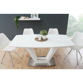 Stół LOFT 160-220cm biały dąb / 38556
