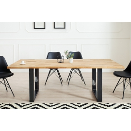 Stół WOTAN 200cm Dąb Industrial / 36923