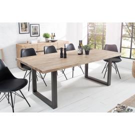 Stół WOTAN 200cm akacjowy szary tekowy / 37597
