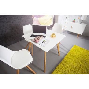 Stół SCANDINAVIA biały 80cm / 35126