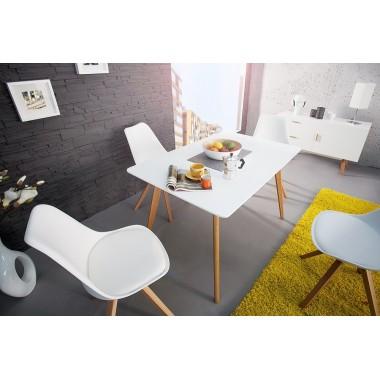 Stół SCANDINAVIA biały matowy 120cm /35129