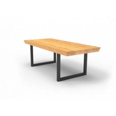 Stół BOLONIA Mia 160cm x 100cm x 75cm drewniany blat