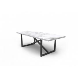 Stół ASCOLI Mia 160cm x 100cm x 75cm Drewniany blat