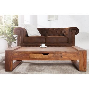 Stolik kawowy MARKANT 100cm z drewna Sheesham / 36791