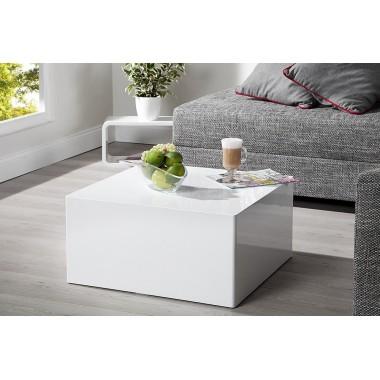 Stolik kawowy MONOBLOK M 50cm biały / 36470