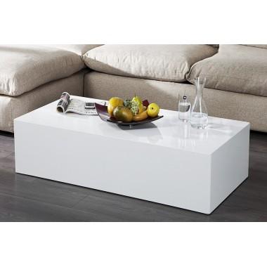 Stolik kawowy MONOBLOC XL 100cm biały / 36316