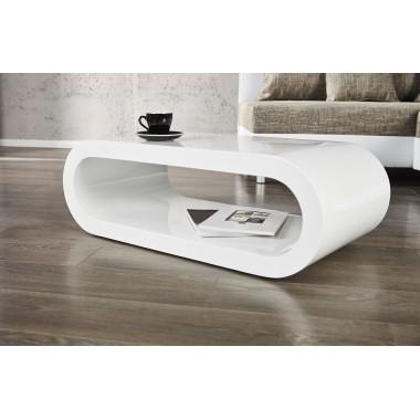 Stolik kawowy RETRO biały 90cm / 19992
