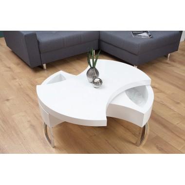 Stolik kawowy TURN AROUND biały / 37661