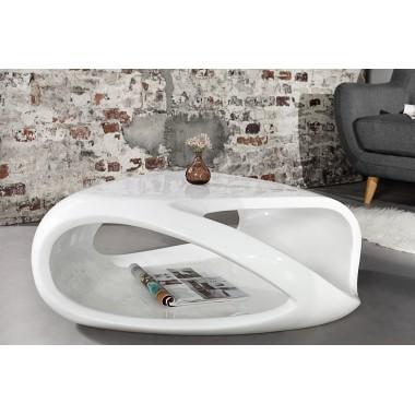 Stolik kawowy TWISTER 80cm biały / 36195
