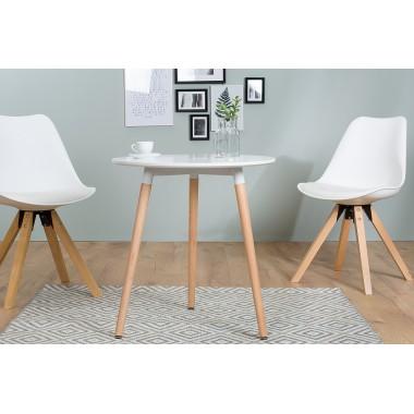 Stół bistro SCANDINAVIA okrągły 60cm biały / 38388