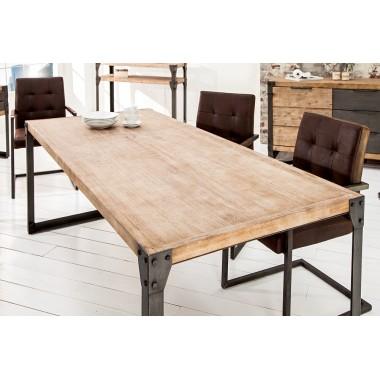 Stół do jadalni FACTORY 160 cm akacjowy szary teak / 36769