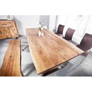 Stół do jadalni Mammut 160cm Akacja 35mm / 35943