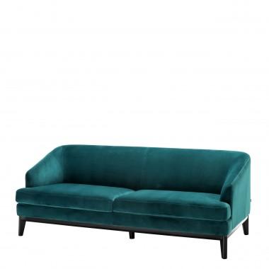Sofa MONTEREY savona sea green velvet / retro styl
