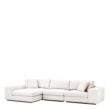 Sofa VISTA GRANDE Lounge avalon white / ognioodporna