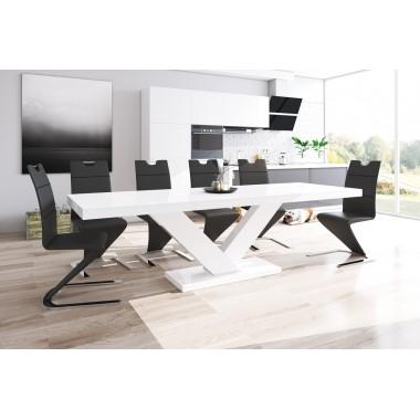 Stół VICTORIA biały rozkładany /AKRYL POŁYSK