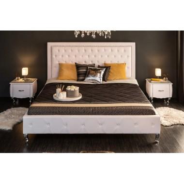 Łóżko EXTRAVAGANCIA 180x200 cm białe / 36678