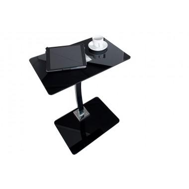 Stolik B-laptop na stół czarny połysk , matowa podstawa / 35551B
