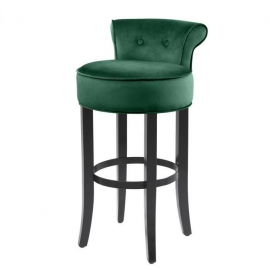 Stołek barowy Sophia Loren  Roche dark green velvet / 113231