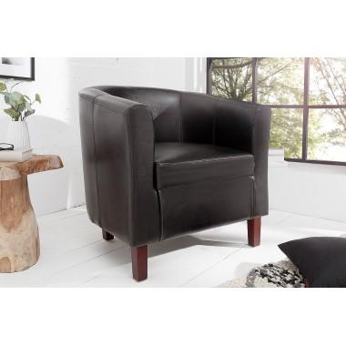 Fotel kolonialny Hemingway espresso brązowy / 38477