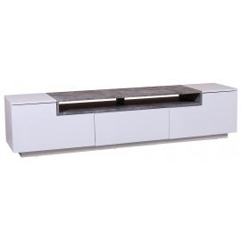 Komoda / Szafka LOFT TV 180 cm biały beton / 39449
