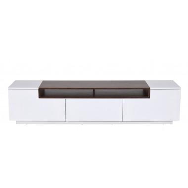 Komoda / Szafka LOFT TV 180 cm biały orzech / 39447