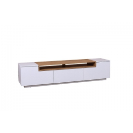 Komoda / Szafka LOFT TV  180 cm biały dąb / 394478