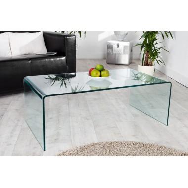 Stolik kawowy FANTOME szklany 110 cm / 22874