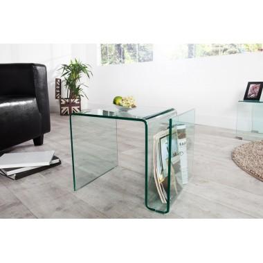 Stolik kawowy FANTOME szklany 50 cm / 22860