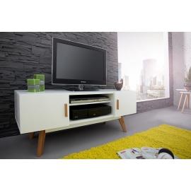 SCANDINAVIA TV Komoda / Szafka 120 cm biały / 35134
