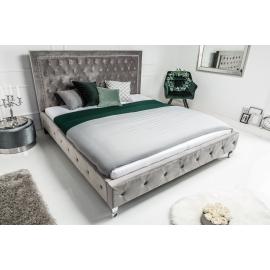 Łóżko EXSTRAVAGANCIA 180x200 cm srebrny