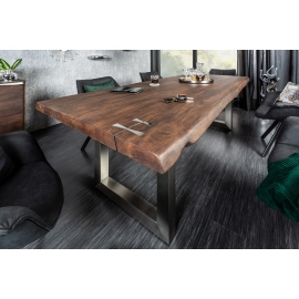 MAMMUT ARTWORK Stół do jadalni 200cm akacja 60mm / 39336