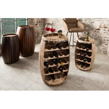 BODEGA Stojak /Barek na wino 80 cm kolor naturalny/ 38962